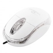 Mouse Esperanza Titanum TM102W cu fir optic USB alb