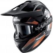 Shark helmets Motocrosshelm, Motorradhelm Shark Explore-R Peka Mat Orange S orange