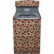 Dream Care Multicolor Printed Washing Machine Cover for Fully Automatic Top Loading Samsung WA60H4100HY 6 kg