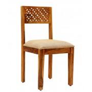 indickynabytek.cz - Židle Mira s polstrovaným sedákem z indického masivu palisandr / sheesham Natural