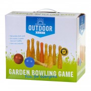 Outdoor Play tuin bowling set - hout