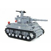 Custom M4 Sherman Tank World War 2 Complete Set made w/ real LEGO bricks - Battle Brick Custom Set
