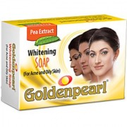 Golden Pearl Whitening Soap For Acne And Oily Skin 100g (Pack Of 1)