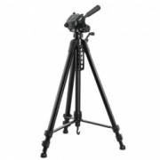 Trepied foto telescopic Weifeng WT-3560 64-167 cm aluminiu negru