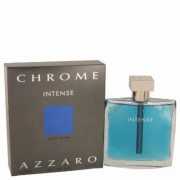 Chrome Intense For Men By Azzaro Eau De Toilette Spray 3.4 Oz