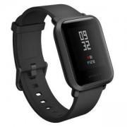 Смарт часовник Xiaomi Mi Amazfit Bip, Bluetooth, сензор пулс, IP68, Черен, 6240005