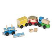 Melissa & Doug Cargo Train, Multi Color