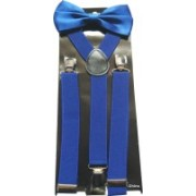 Swarn Y- Back Suspenders for Boys, Men, Women(Blue)