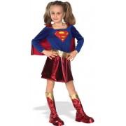 Detský kostým Supergirl - Pre vek (rokov) 8-10