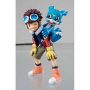 MEGAHOUSE Digimon Motomiya Daisuke & V-Mon St Statua
