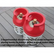 Weber Kompozitní plynová bomba, 5 kg