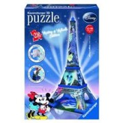 Puzzle 3D Ravensburger Mickey and Minnie Eiffel Tower 216 Pieces