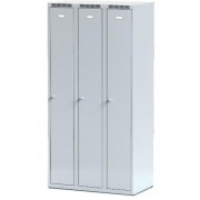Šatní skříň š 900 mm - šedá