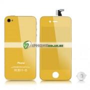 iPhone 4 Digitizer/Bakstycke Chrome Kit (Guld)