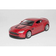 Diecast Models - (Welly 1:60 Scale - Aston Martin V12 Vantage Red)
