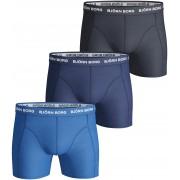 Björn Borg Shorts 3er-Pack Uni Blau - Blau S