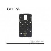 Husă telefon plastic Cg Mobile Guess Tessi Samsung SM-G900 Galaxy S V. negru (GUHCS5STB)