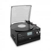 Auna Oakland Tocadiscos retro FM Bluetooth Vinilo CD Casetes MP3