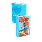 Caixa Decorativa Livro Pin Up Landy The Coca-Cola
