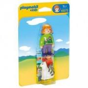 Фигурка Плеймобил 6975 - Жена с коте, Playmobil, 291323
