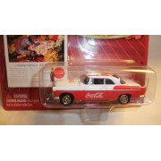 JOHNNY LIGHTNING COCA-COLA VINTAGE COLLECTOR'S EDITION 1955 CHRYSLER C-300 DIE-CAST COLLECTIBLE
