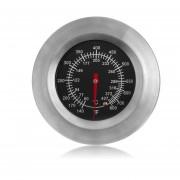 EB Termómetro Controlado Temperatura Del Metal Del Bbq 140-800 Grados Fahrenheit