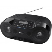 Sony ZS-RS70BTB DAB+ CD-radio AUX, Bluetooth, CD, DAB+, NFC, FM, USB Zwart
