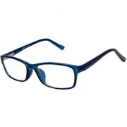 Cardon Matte Blue Rectangular Unisex Full Rim