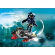 Playmobil Espía con Jet