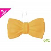 Papillon piccolo 6pezzi oro 441831 617