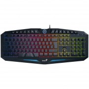 Teclado Gamer Genius K9 Scorpion Inteligente Usb Retroiluminado