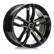 Avus Af16 8,5x21 5x112 Et30 66.6 Black - Llanta De Aluminio