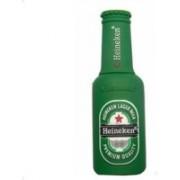 Microware Beer Bottle Shape 8 GB Pendrive 8 GB Pen Drive(Green)