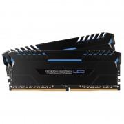 Memorie Corsair Vengeance LED Blue 32GB DDR4 3000 MHz CL15 Dual Channel Kit