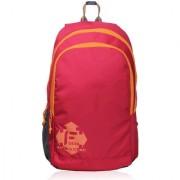 F Gear Castle Red orange 24 Liters Rugged base Backpack