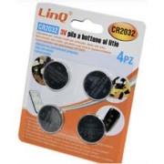 Italy's Cartridge BATTERIE LINQ CR2032 CONFEZIONE 4PZ BATTERIA BOTTONE AL LITIO 3V - DIAMETRO MAX 20mm - ALTEZZA 3.2mm ALTA QUALITA'