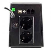FSP Group Fortron EP 650 650VA 2AC outlet(s) Torre Nero gruppo di continuità (UPS)