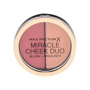 Max Factor Miracle Cheek Duo blush e illuminante 11 g tonalità 30 Dusky Pink & Copper