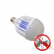OPTONICA LED IZZÓ elektromos rovarcsapda funkcióval / E27 / 8W+2W / meleg fehér/ SP1819
