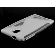 Wave Case for Nokia 3 - Nokia Soft Cover (Frosted Clear/Clear)