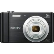 """Sony Dscw800b.Ce3 Fotocamera Digitale Compatta 20.1 Mpx Display 2.7"""" Zoom 40x Sensore Ccd Video Hd Colore Nero - Dsc-W800 Cyber-Shot"""