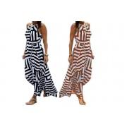 Boni Caro £11 for a women's striped maxi dress in sizes 8-18 from Bonicaro!