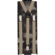 Eccellente Y- Back Suspenders for Men(Beige)