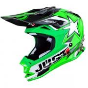 No Name Casque cross JUST1 J32 moto x vert fluo
