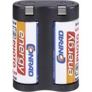 Baterie foto litiu 2CR5, 6 V, 1400 mAh, Conrad energy