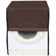 Dream Care Coffee Waterproof Dustproof Washing Machine Cover For Front Load Haier HW55-1010 5.5 kg
