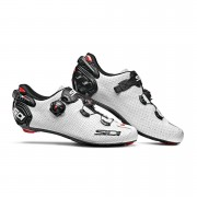 Sidi Wire 2 Carbon Air Road Shoes - White/Black - EU 43 - White/Black