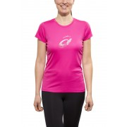 asics Graphic Hardloopshirt korte mouwen Dames roze XS 2014 Hardloopshirts