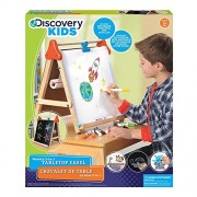Tabletop Discovery Kids Tabletop Easel Chalkboard & Whiteboard Children'S Activity- Toys For Kids