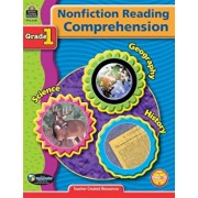Nonfiction Reading Comprehension: Grade 1, Paperback/Teacher Created Resources